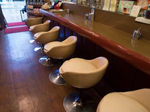 珈琲舎ロッセ 椅子