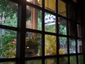 喫茶ルオー 窓からの眺め